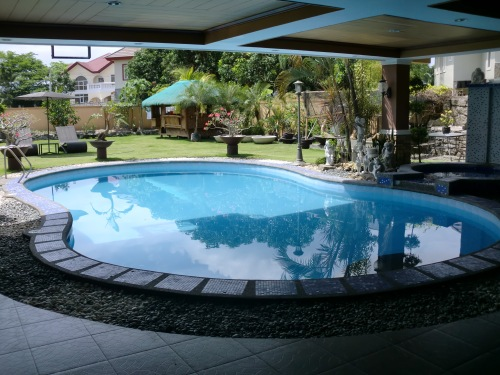 Pool at the back yard.